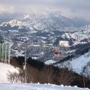 skyscape of winter